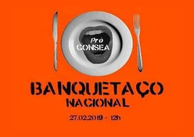 Banquetaço – em defesa do CONSEA, DAB marca presença