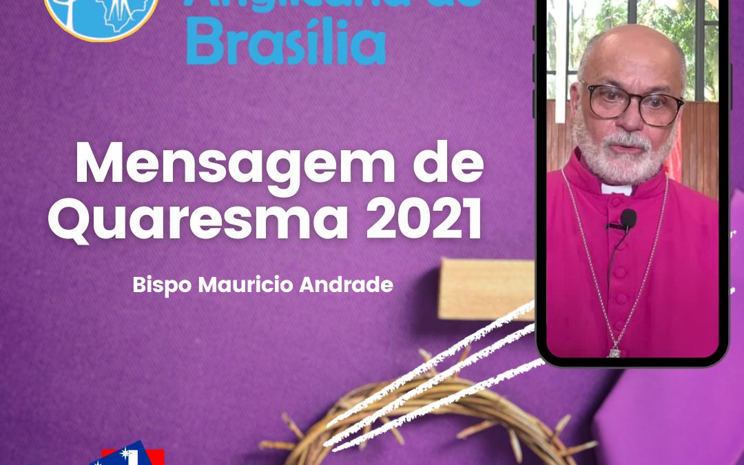 Mensagem de Quaresma 2021